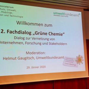 Green Event 2. Fachdialog Grüne Chemie